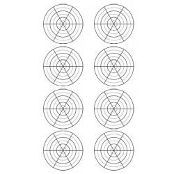 Skabelon med 8 grids