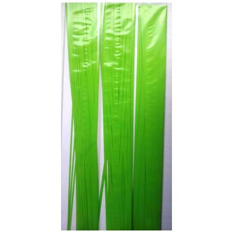 Lysegrønne strimler