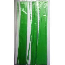 Mørkegrønne strimler