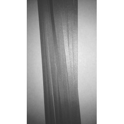 Sølv strimler, metallic